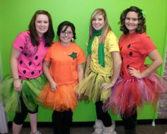 Fruit costumes for under $10 Fruit Halloween Costumes, Carnival Costumes, Halloween Kids, Carnival Ideas, Creative Costumes, Diy Costumes, Spirit Costumes, Watermelon Costume, Literary Costumes