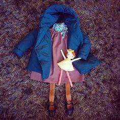 @latestatralenuvole winter collection ❄️ #kidsfashion #kidscoat #kiddownjacket #kidsduvetjacket