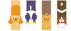 marcadores de pagina cachorro 2 criatividade ativa