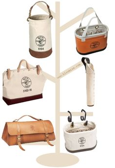 Klein tools bags and buckets