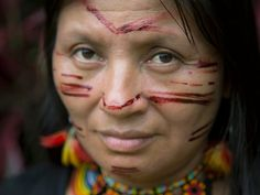 A selection of photos from Amazon Women on the Frontlines of Climate Change, a traveling photography exhibit with written and live testimonies from indigenous women leading solutions on the frontlines of the Amazon as the region confronts the impacts of climate change.