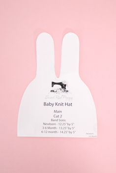 Best 12 This listing is for one digital pattern for a baby knot hat – ready to be printed out on or paper size for an instant sewing project. Hat Patterns To Sew, Baby Patterns, Sewing Patterns, Hat Pattern Sewing, Beanie Pattern, Clothes Patterns, Baby Turban, Sewing Blogs, Sewing Tutorials