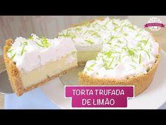 TORTA TRUFADA DE LIMÃO PROFISSIONAL E SUPER FÁCIL - #431 - Receitas da Mussinha - YouTube
