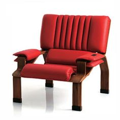Armchair Superleggera, designed by Joe Colombo in 1965
