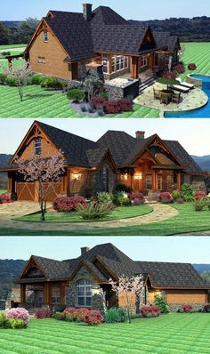 Craftsman House Plan ID: chp-46985 - COOLhouseplans.com