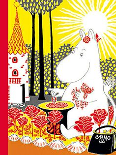 "Illustration from ""The Book about Moomin, Mymble and Little My "" by Tove Jansson Les Moomins, Tove Jansson, Vintage Children's Books, Little My, Children's Book Illustration, The Book, Illustrations Posters, Childrens Books, Just For You"