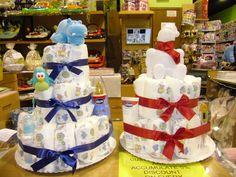 Babyshower, tartas de pañales | MasBebé