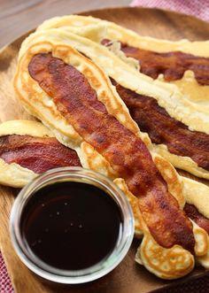Pancake Bacon Dipper...