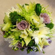 yellow spider mum and peony bridal bouquet - Google Search