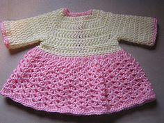 Ravelry: Sweater Dress for babies pattern by Kelly Kearney