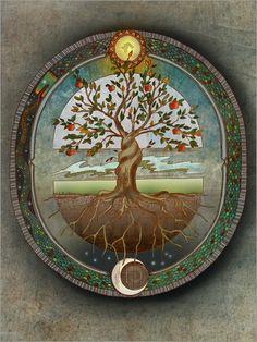 Brenda Erickson - Orobouros - Baum des Lebens