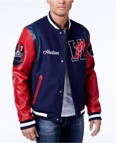 80603ce72 Hudson NYC Men's Wingfoot Champion Varsity Jacket https://www.shopstyle.com