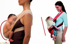 right and wrong Baby Wearing, Wonder Woman, Superhero, Women, Google, Wonder Women, Woman, Babywearing