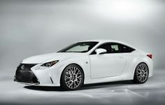 An F Sport trim joins the Lexus RC 350 and the RC F to complete the brand's coupe trifecta for the 2015 model year. All three models are set to launch this fall in the U.The Lexus RC F sport is . Lexus Coupe, Lexus Cars, Lexus Sports Car, My Dream Car, Dream Cars, New Lexus, Lexus 350, Lexus 2017, Used Car Prices