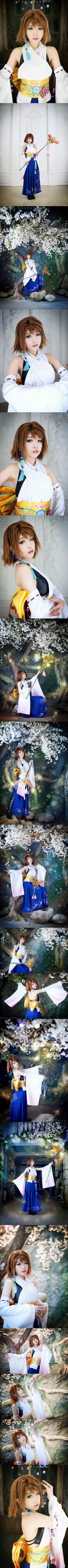 Final Fantasy X - Yuna Cosplay - Tomia #cosplay Just awesome !!!!!