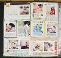 Project Life - 2nd Week July   Inspiration #projectlife #scrapbook