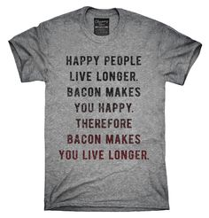 Bacon Logic Shirt, Hoodies, Tanktops