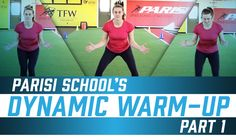 Parisi Speed School's active dynamic warm up – part 1 Volleyball Training, Coaching Volleyball, Volleyball Players, Volleyball Warm Ups, Volleyball Positions, Dynamic Warm Up, Warm Up Routine, Dynamic Stretching, Psoas Muscle