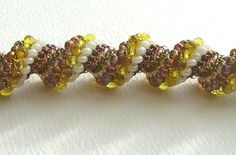 Beadweaving Tutorial 5 Cellini and Dutch Spirals by nemeton