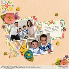 So Happy Together Kit: Together Papers, Elements, and Journal Cards by Kelleigh Ratzlaff Designs