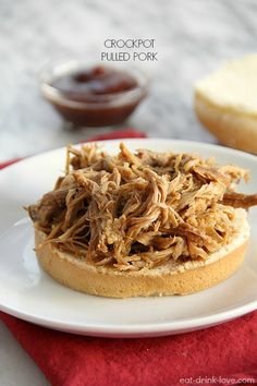 Flashback Friday: Crockpot Pulled Pork » Eat. Drink. Love.