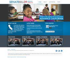 Senate Bill 39 Launches Website Designed by Earthsite http://earthsite.net/blog/client-news/item/senate-bill-39-launches-website-designed-by-earthsite#