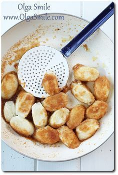 Kluski leniwe - pierogi leniwe - przepis | Kulinarne przepisy Olgi Smile