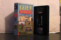 The #rules of a #royal and ancient game of golf vhs #video ,  View more on the LINK: 	http://www.zeppy.io/product/gb/2/201422912166/
