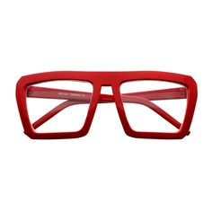 Colorful Retro Style Clear Lens Party Square Flat Top Glasses P11