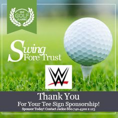 Thank you to tee-sign sponsor, WWE!
