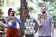 Make-and-Do your own DIY 'Save the Date'