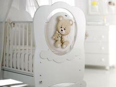 super süßes Babybett in Weiß