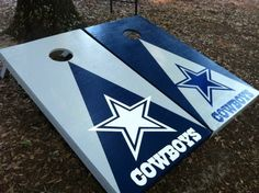Dallas Cowboys Cornhole Set With Bean Bags