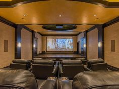Great theater for you and your guests | 213 White Pine Canyon Rd, Park City, Utah, 84098 | summitsothebysrealty.com