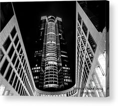 Tower 185 in Black and White Wood Print by Norma Brandsberg. All wood prints are professionally printed, packaged, and shipped within 3 - 4 business days and delivered ready-to-hang on your wall. Black And White Canvas, White Wood, Germany Photography, White Photography, Thing 1, Canvas Art, Canvas Prints, Acrylic Sheets, Photo On Wood