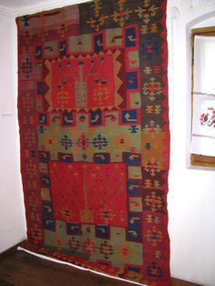 traditional Romanian carpet, Oltenia
