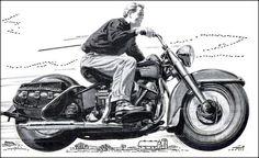Harley Davidson, 1953                                                                                                                                                                                                              Source:                                                                                                   1950sunlimited