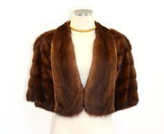 Poughkeepsie Mink / vintage 1940s mink fur by BreesVintageBoutique, $95.00