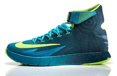 quality design e1b73 12466 Two colorways of the Nike Zoom Hyperrev Kyrie Irving PE release this  weekend. Each colorway, one turquoise the other gold, sports Kyrie s
