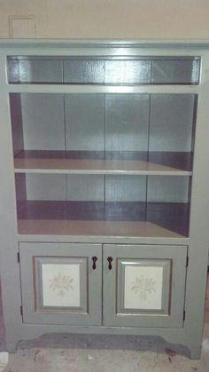 Hand painted solid wood cabinet by refinished@last.
