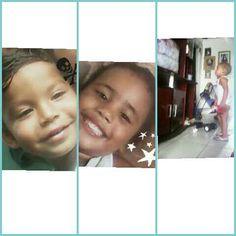 Meus lindos primos willian e ricardo e a julia