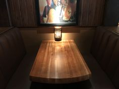 Tabletops refinshed at the Redstone American Grill in Maple Grove, MN