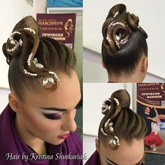 Hair by Kristina Shinkariuk  Работаю все выходные в Лобне на ЧиП России #hairdresses #hairstyle #hair #kristinashinkariuk #dancesport #dancehair #imagemaximum #ballroom #dancecompetition #beauty #muah #make-up #hairstylist #wdsf #прическа #прическадлятанцев
