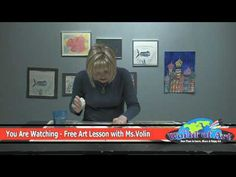 Watercolor Resist, Part 1: Art Projects for Kids