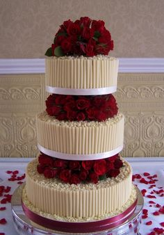 wedding cake - zzkko.com i would love this but with my purple flowes :-)