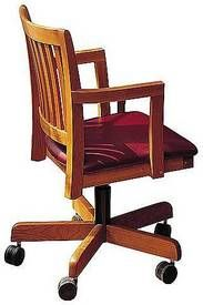 Thos. Moser courtroom swivel chair