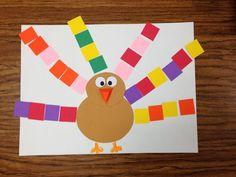 Turkey, Turkey, Turkeys!!! Turkeys with Pattern Feathers- Picture Only