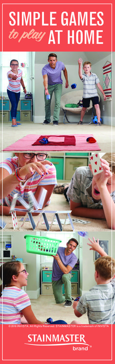 It& getting colder, and no one wants to go outside. Here are some games you can play on the floor, using stuff you& already got around the house. Indoor Games, Indoor Activities, Craft Activities For Kids, Activity Games, Summer Activities, Family Activities, Fun Games, Games For Kids, Games To Play