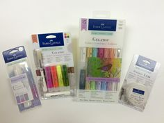 Friday Giveaway from Faber-Castell Design Memory Craft® | Craft Test Dummies