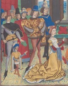 Regnault de Montauban, rédaction en prose. Regnault de Montauban, tome 3 Date d'édition :  1451-1500  Ms-5074 réserve  Folio 307r